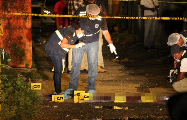 Cuerearon con 5 tiros a 'Pontín' en Los Cerezos