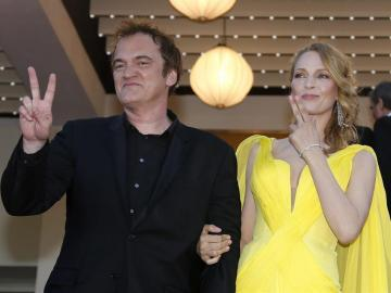 """Uma Thurman, la """"novia"""" de Tarantino cumple 50 años"""