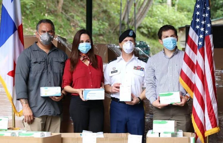 Embajada de los Estados Unidos realiza donaciones al Minsa