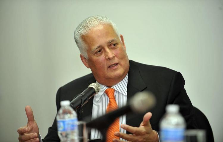 De 'golpistas' califica expresidente Pérez Balladares a los que piden renuncia a Carrizo