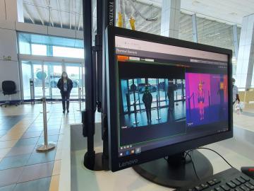 Instalan equipo de bioseguridad para reapertura de vuelos en Aeropuerto de Tocumen