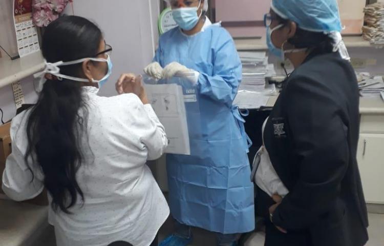 El TE inicio la recolección de actas de nacimientos y defunciones en los hospitales