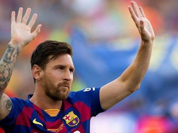 Messi donó medio millón de euros a hospitales argentinos