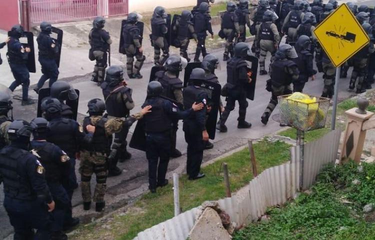 Residentes de Veranillo protagonizaron enfrentamientos con agentes de la PN