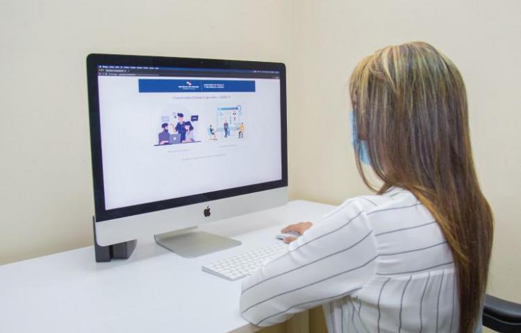 Trabajadores podrán verificar la suspensión de sus contratos vía web