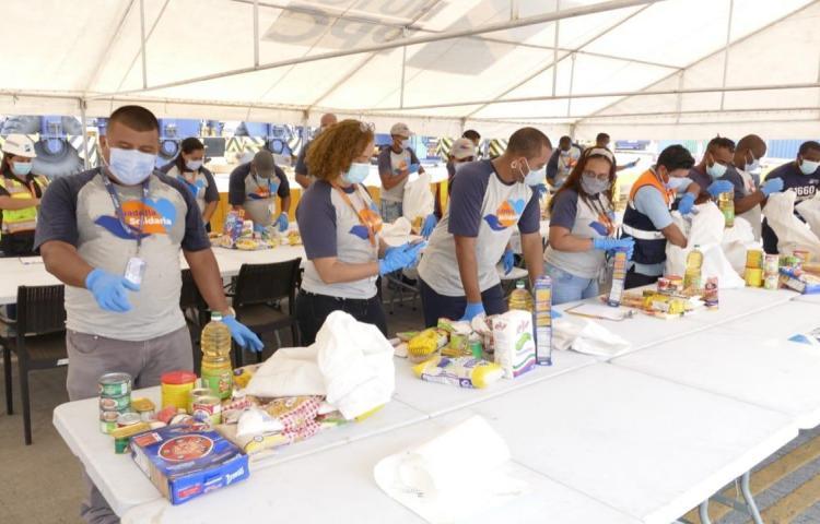 Hutchison Ports PPC entregó mil bolsas de comida a la Alcaldía de Colón