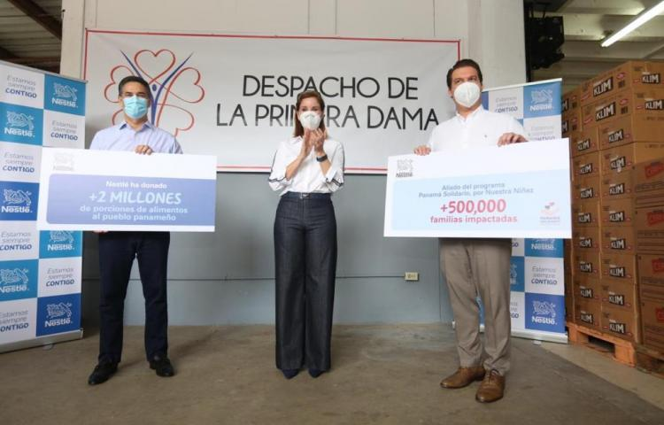 Despacho de la Primera Dama inicia proyecto 'Panamá Solidario: Por Nuestra Niñez'