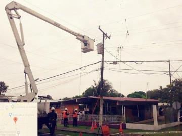Algunos sectores de Panamá Oeste afectados por tormenta eléctrica