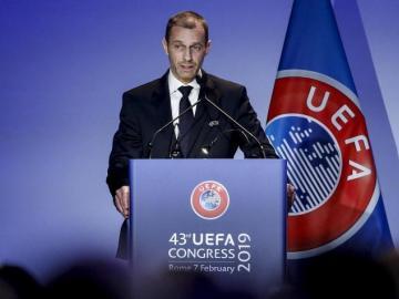 UEFA pospone a 17 junio su próximo Ejecutivo