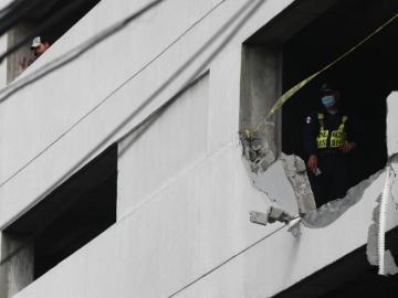 Reconocen 'fallas' en construcción en estacionamiento de PH Bay View