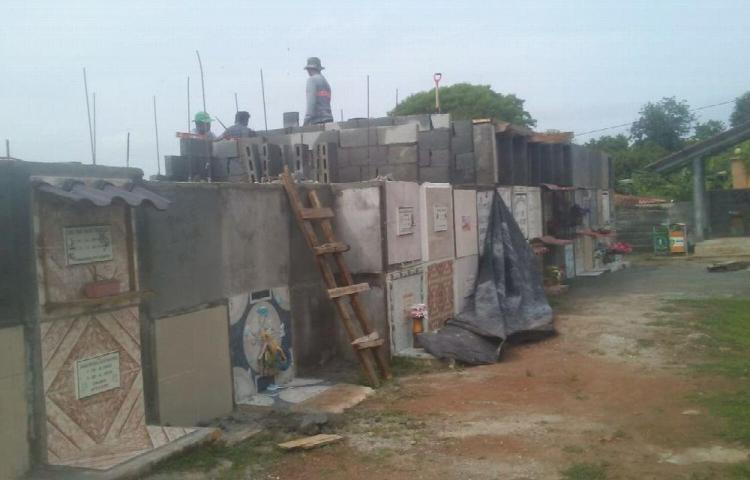 Aumentan la capacidad de los cementerios