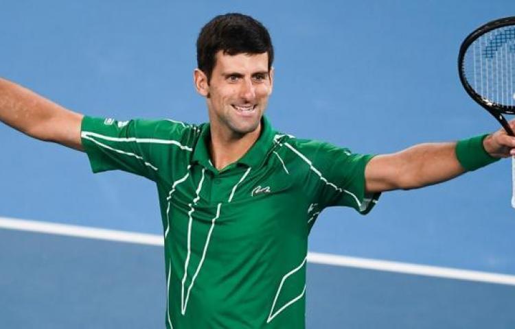 Djokovic retomó sus entrenamientos