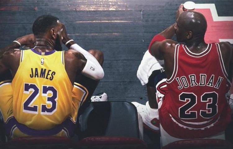 """""""Mi tipo de juego habría coincidido con el de Jordan"""": James"""