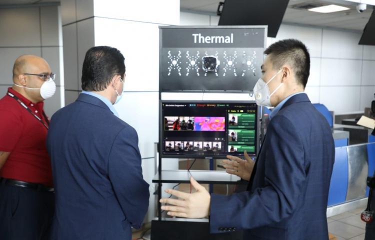 Cámara térmica es instalada previo a la reapertura del aeropuerto de Tocumen