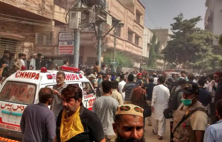 """Superviviente del avión de Pakistán: """"Escuchaba gritos"""""""