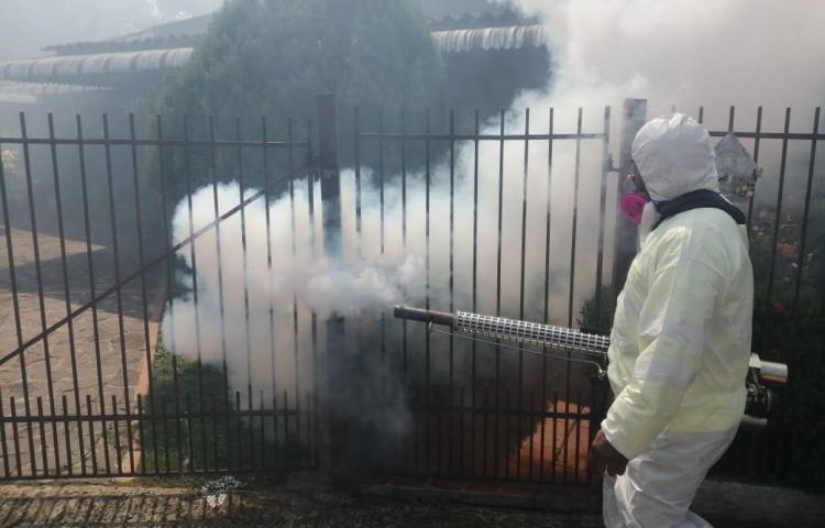Realizan operativo de fumigación en sectores de San Miguelito
