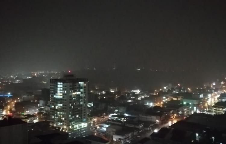 Panameños se quedan a oscuras
