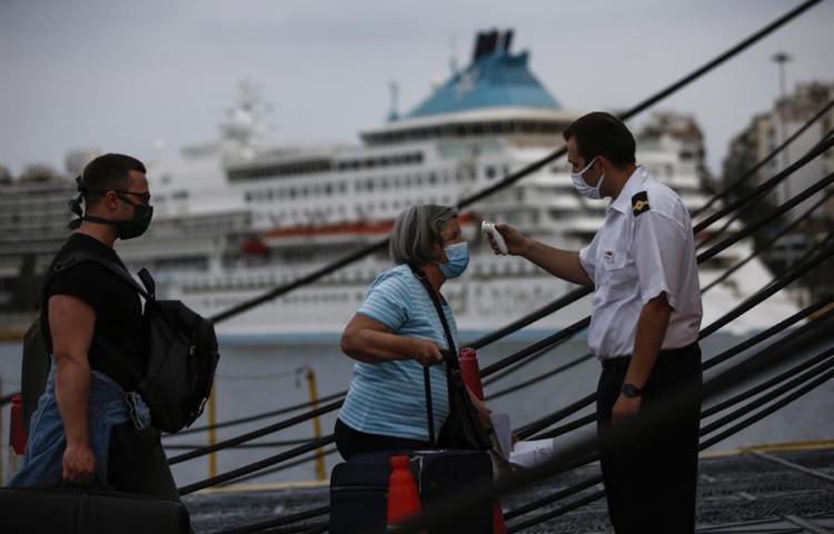 Grecia anuncia 29 primeros países de los que aceptará turistas en junio