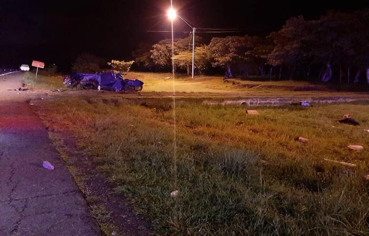 Muere cabo del Senafrot en Coclé tras sufrir un accidente de tránsito