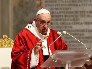 El papa dice que lo peor de esta pandemia sería el drama de desaprovecharla
