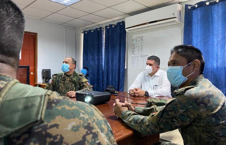Ministerio de Seguridad refuerza al Batallón Este de Chepo con tecnología