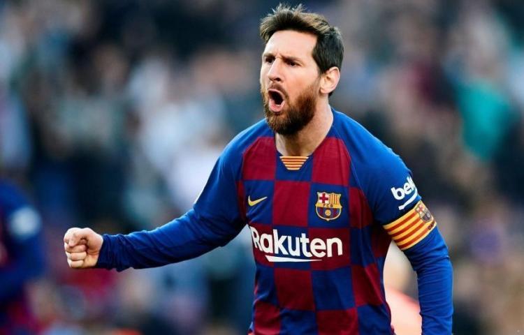 Messi, un año más en el Barcelona