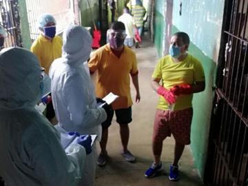 Verifican la situación de los presos con covid 19 en la cárcel de Veraguas