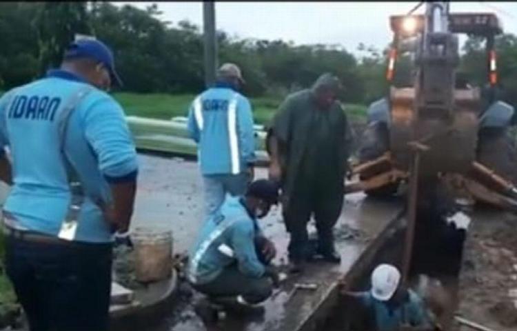 Adelantan labores para mejorar el suministro de agua potable