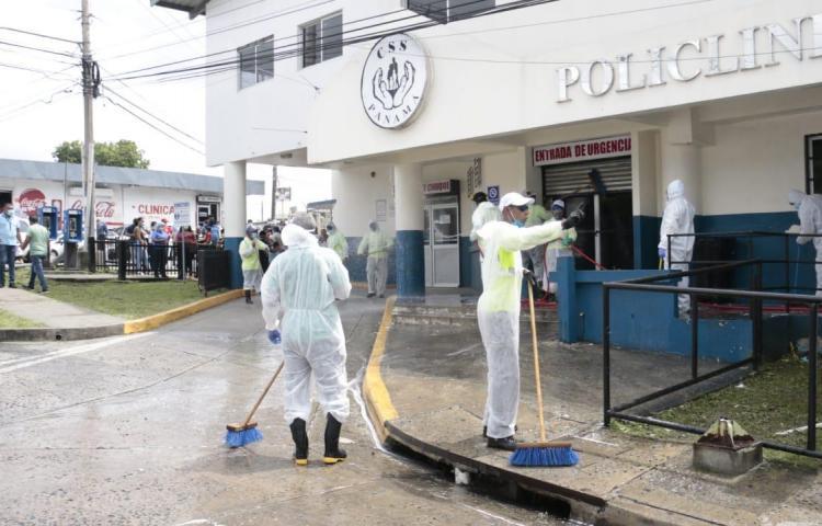 Sanitización en San Miguelito toca corregimientos con altos contagios