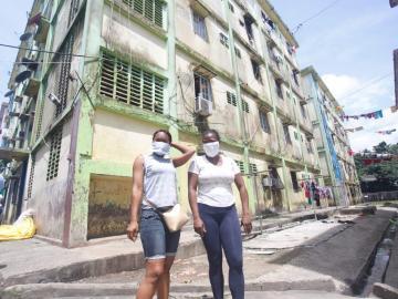 Minsa reparte mascarillas a la población de Cabo Verde para evitar sanciones