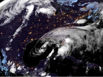 La tormenta tropical Cristóbal toca tierra en Luisiana, en la costa sur de EE.UU.