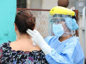 Buscan casos sospechosos de COVID-19 en Vacamonte