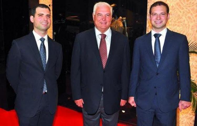 MP presenta amparo de garantías por fianza de excarcelación a los hijos de Martinelli