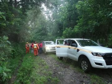 Varios atrapados tras crecida de ríos en Chiriquí y Veraguas