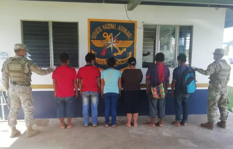 Aprehenden a 4 presuntos implicados en privación de libertad en Toncrí Arriba
