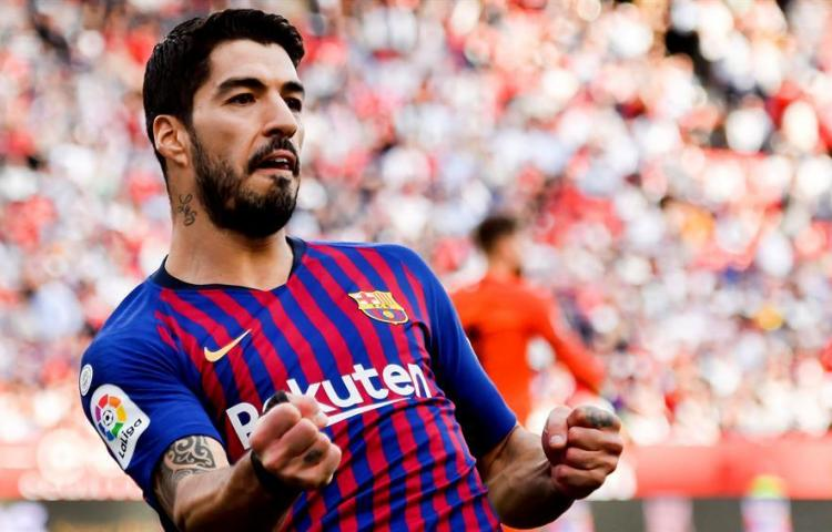 Luis Suárez vuelve a la titularidad en el Barça cinco meses después