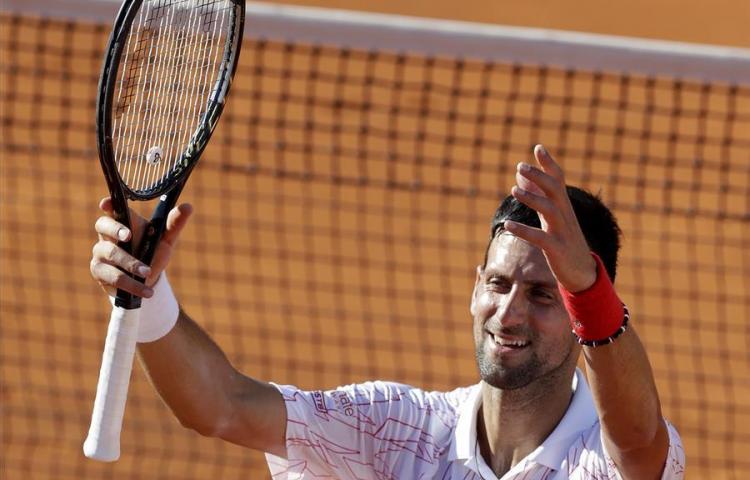 Novak Djokovicda positivo por coronavirus