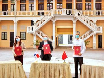 Embajada de China dona ventiladores de alta gama