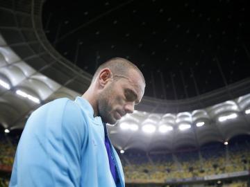 """Wesley Sneijder: """"La botella de vodka se convirtió en mi mejor amiga"""""""