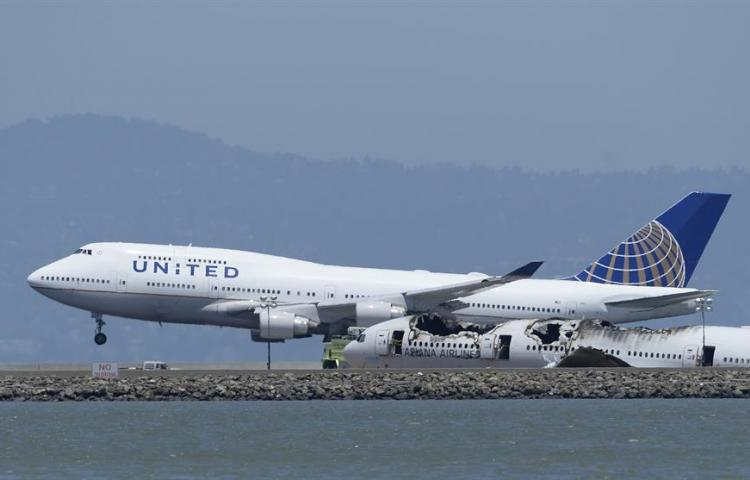 United Airlines reanuda vuelos entre EE.UU. y China tras la suspensión en febrero