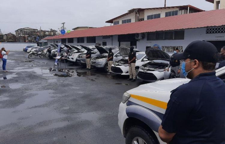 10 autos recuperados y 10 detenidos tras operativo en Colón