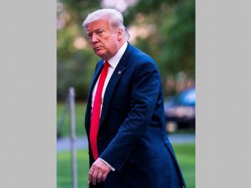 Trump, en el punto más bajo de su aprobación