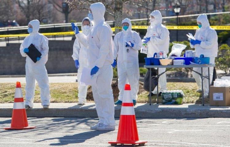 Más de dos millones y medio de contagios en Estados Unidos