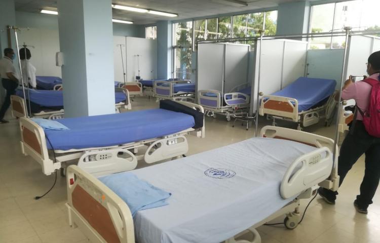 Complejo Hospitalario en proceso de ser exclusivo para pacientes con covid-19