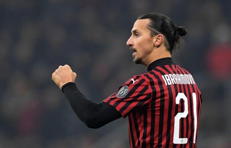 Ibrahimovic, listo para regresar con el AC Milan
