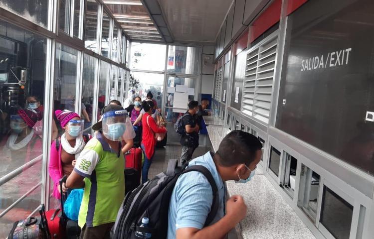 Coordinan salida humanitaria de nicaragüenses