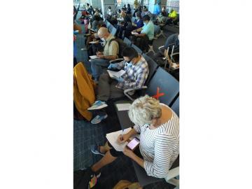 Panameños varados en en México retornan al país por medio de vuelo humanitario