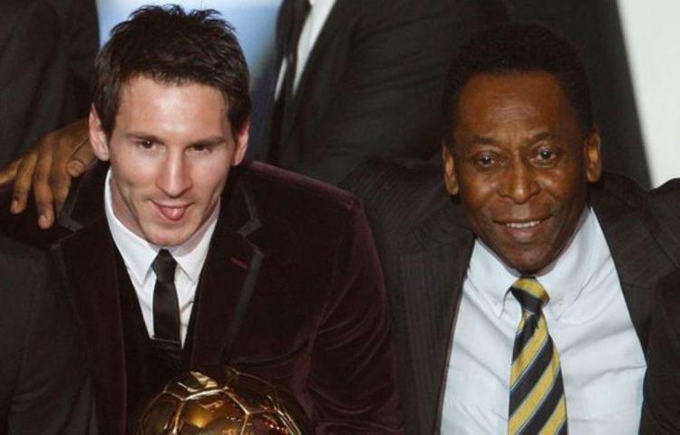 Pelé elogió a Messi por sus 700 goles