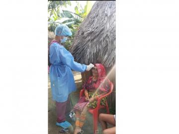 Declaran a la comunidad indígena de Aliganí libre de coronavirus