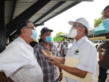 Mida entrega medio millón a productores de Los Santos